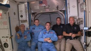 Crew Dragon successfully lifts off from US and docks with ISS