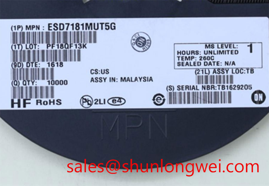 On ESD7181MUT5G