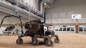 Replica ExoMars rover completes its first simulated drive