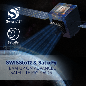 SatixFy, SWISSto12 team up for software-defined satellite payloads